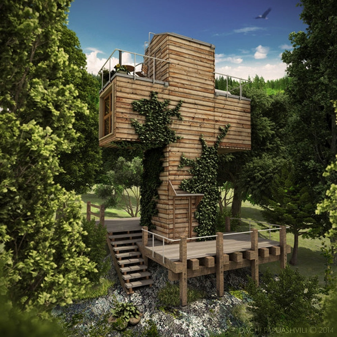 Enjoyable Off Grid Cruciform Container Micro Home Serves As Spiritual Largest Home Design Picture Inspirations Pitcheantrous