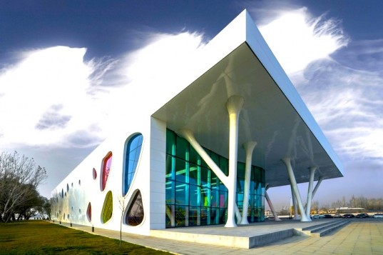 Bahadir Kul Architects Kayseri Ice Rink Sports Candy