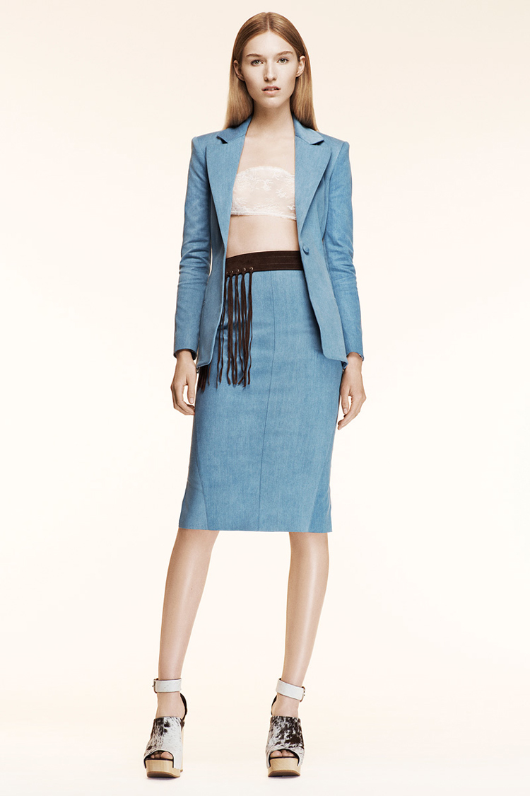 Designer Denim: Altuzarra Resort 2014 « Orta Blu