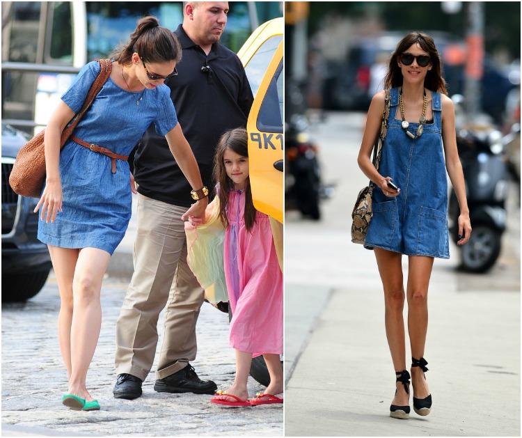 Jean dress shirt summer celebrity