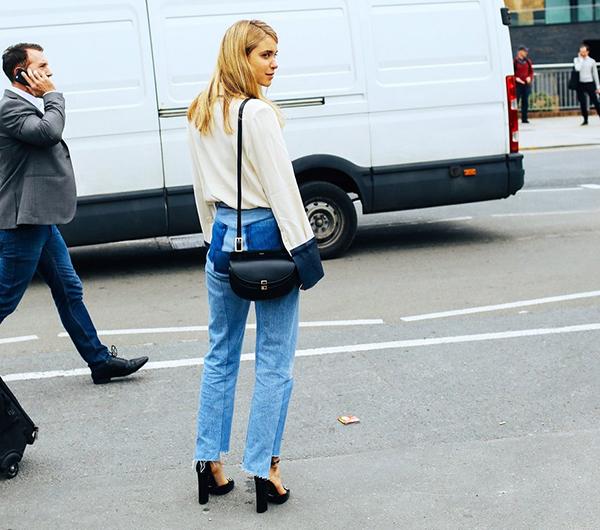 Denim Street Style Ss16 London Fashion Week Orta Blu