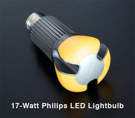 philips ambientled 17 watts led lightbulb product review orta blu. Black Bedroom Furniture Sets. Home Design Ideas