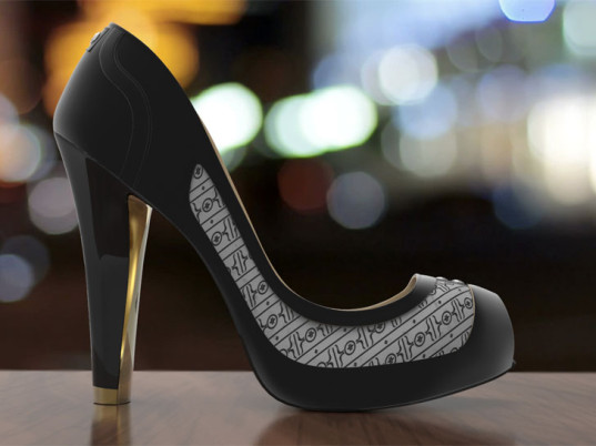 clad in e ink the volvorii smart shoe changes colors patterns