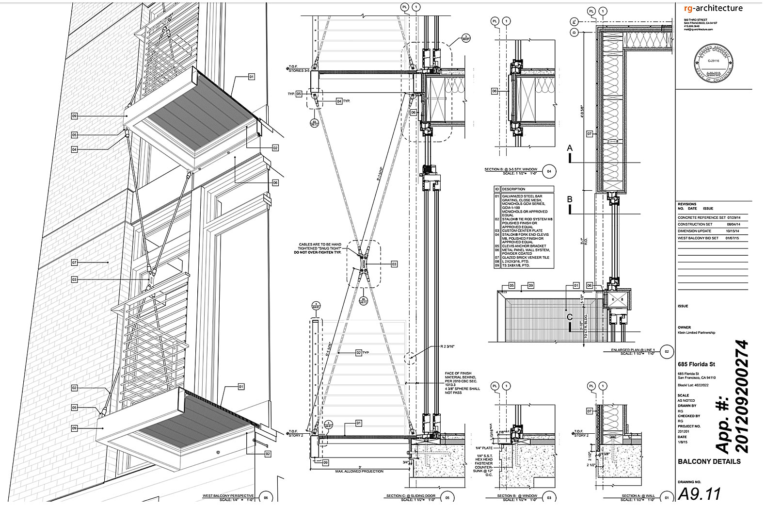 685-Florida-St-Facade-Details-Drawing