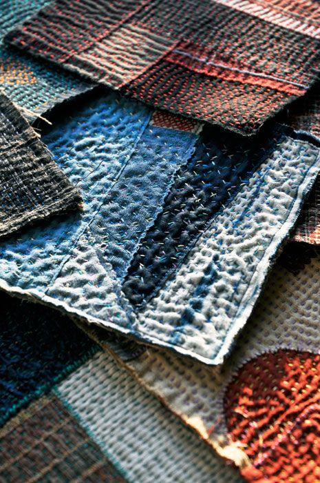 Boro: Japanese Folk Fabric – Orta Blu
